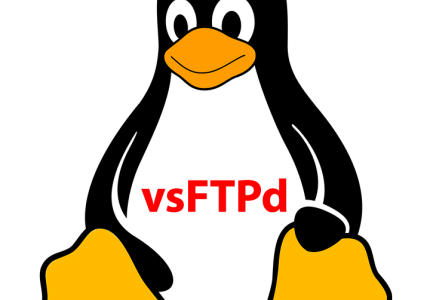 Linux Tux and vsftpd